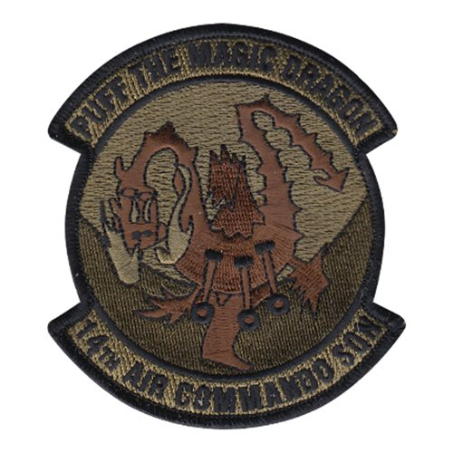 14 ACS Hurlburt Field, FL U.S. Air Force Custom Patches