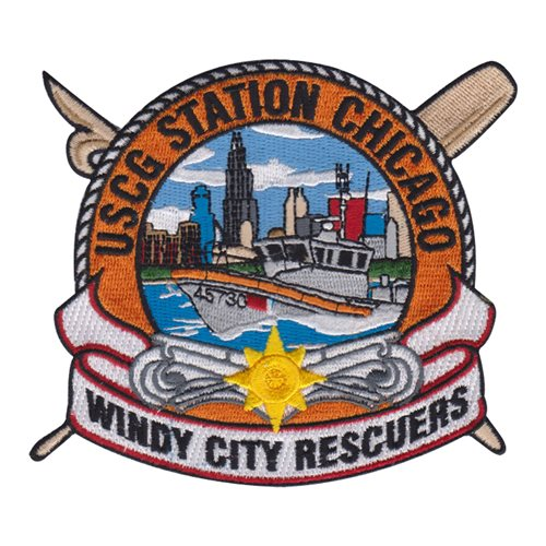 U.S. Coast Guard Custom Patches