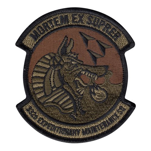 332 EMXS 332 AEW International Custom Patches