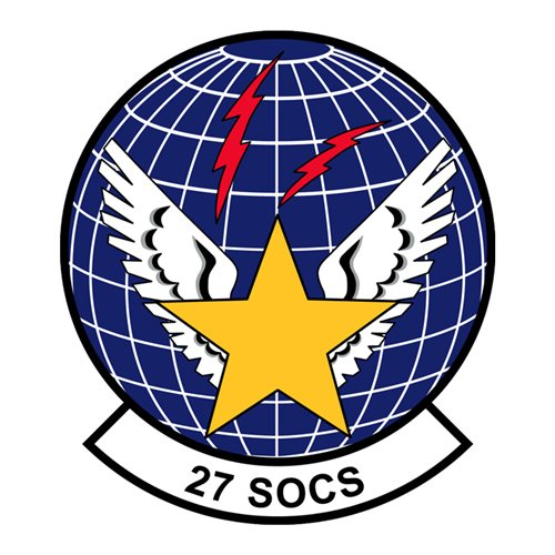 27 SOCS Cannon AFB, NM U.S. Air Force Custom Patches