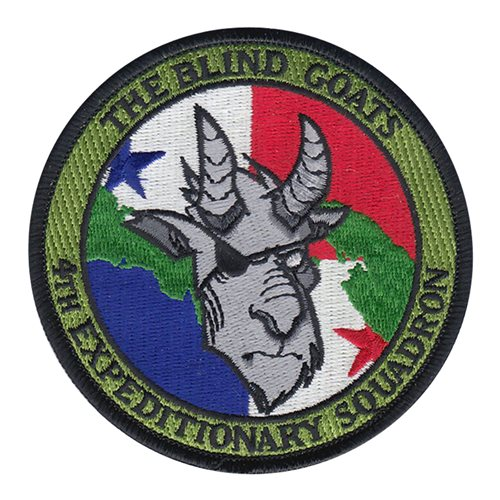 4 EXP International Custom Patches