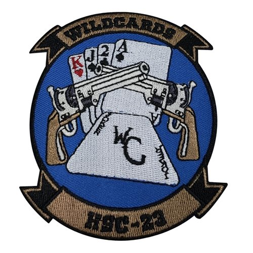 HSC-23 NAS North Island U.S. Navy Custom Patches