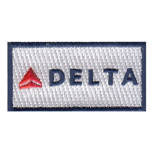 Delta Airlines Corporate Custom Patches
