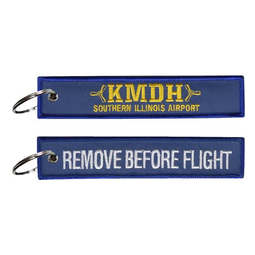 Southern Illinois Airport KMDH Civilian Custom Patches