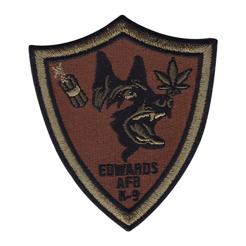 412 SFS Edwards AFB, CA U.S. Air Force Custom Patches