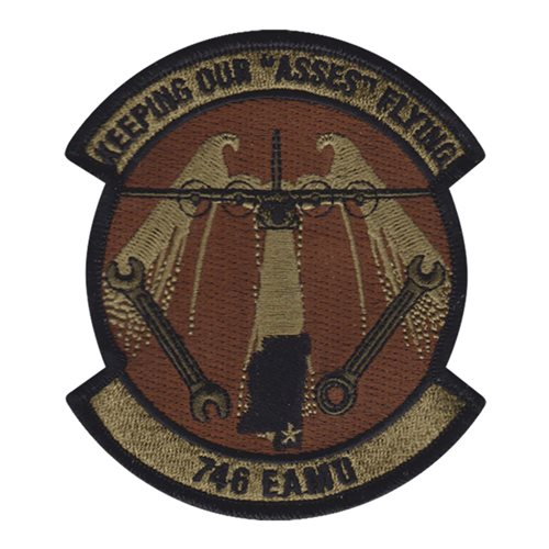 746 EAMU Peterson AFB U.S. Air Force Custom Patches
