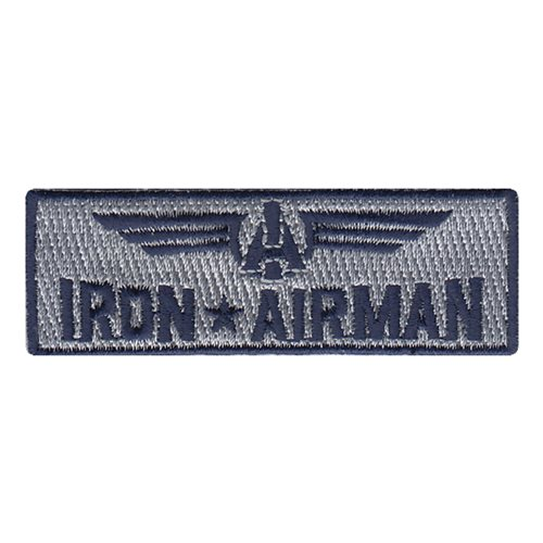 Iron Airman Civilian Custom Patches