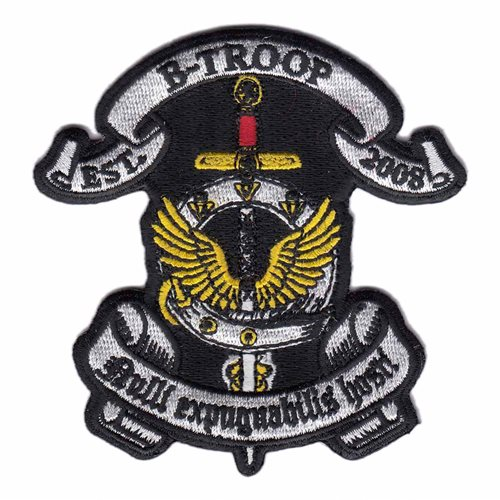 JCU B TROOP U.S. Army Custom Patches