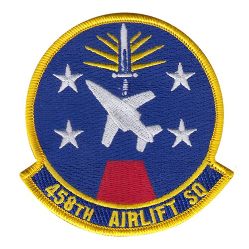 458 AS Scott AFB U.S. Air Force Custom Patches