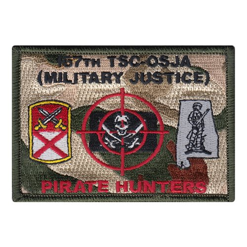 167 TSC U.S. Army Custom Patches