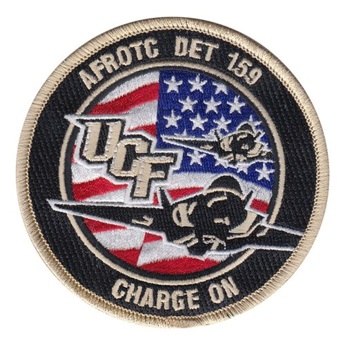 AFROTC DET 159 University Central Florida Air Force ROTC ROTC and College Patches Custom Patches