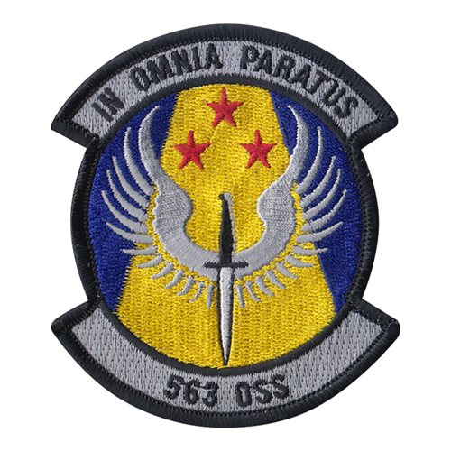 563 OSS Davis-Monthan AFB U.S. Air Force Custom Patches