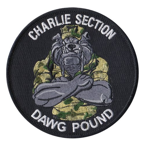 NSF Charlie Section U.S. Navy Custom Patches
