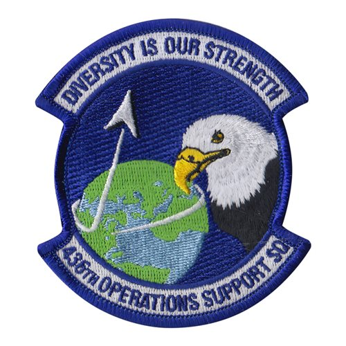 436 OSS Dover AFB U.S. Air Force Custom Patches