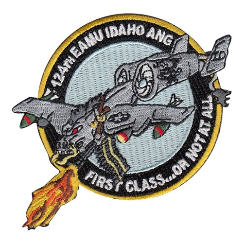 ANG Idaho Air National Guard U.S. Air Force Custom Patches