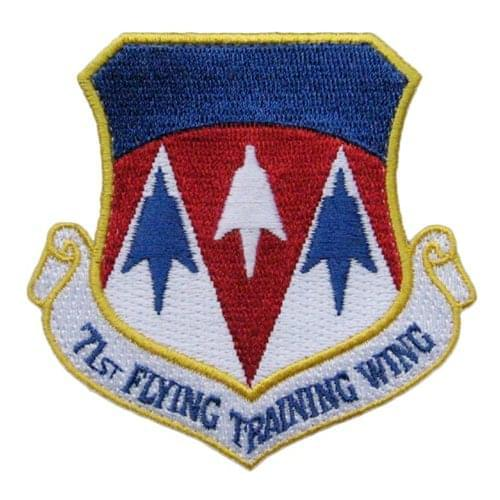 71 FTW Vance AFB U.S. Air Force Custom Patches