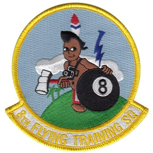 52 Efts T 6a Texan Ii Custom Aircraft Model: 8th Flying Training Squadron Patches
