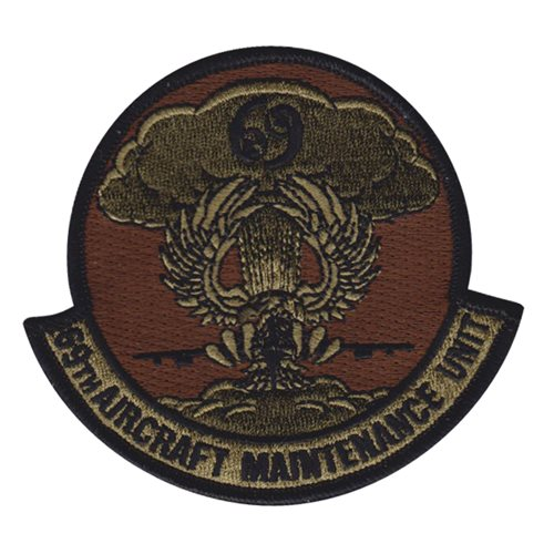 69 AMU Minot AFB, ND U.S. Air Force Custom Patches