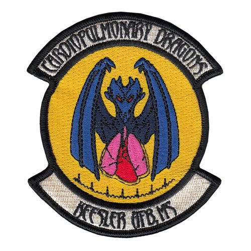 81 MDG Keesler AFB U.S. Air Force Custom Patches