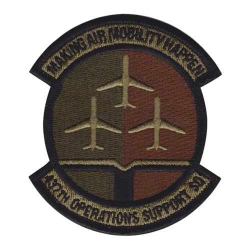 437 OSS Charleston AFB U.S. Air Force Custom Patches