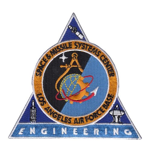 Space and Missiles Systems Center Vandenberg AFB, CA U.S. Air Force Custom Patches