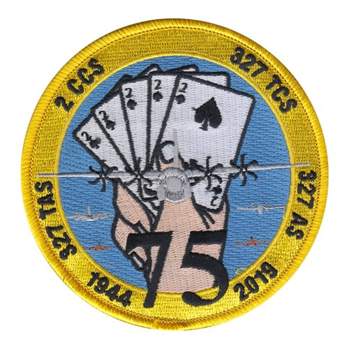 327 AS Little Rock AFB, AR U.S. Air Force Custom Patches