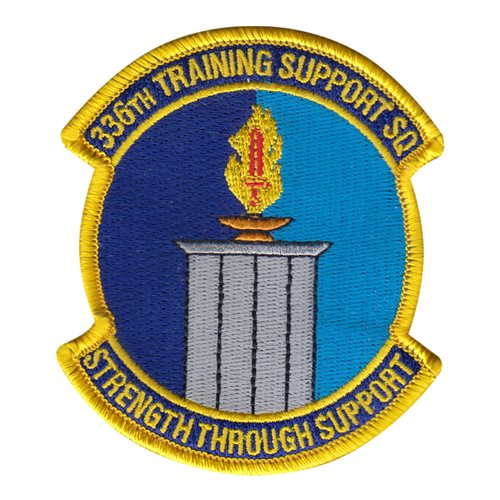 336 TRSS Fairchild AFB, WA U.S. Air Force Custom Patches