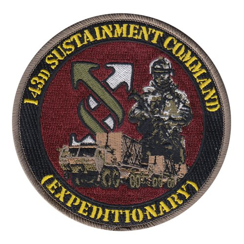 143 SC U.S. Army Custom Patches