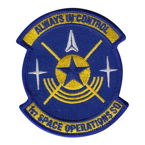 1 SOPS Schriever AFB U.S. Air Force Custom Patches