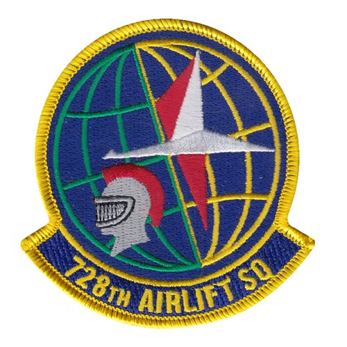 728 AS McChord AFB U.S. Air Force Custom Patches