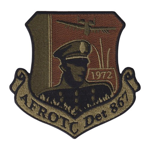 AFROTC Det 867 Norwich University Air Force ROTC ROTC and College Patches Custom Patches