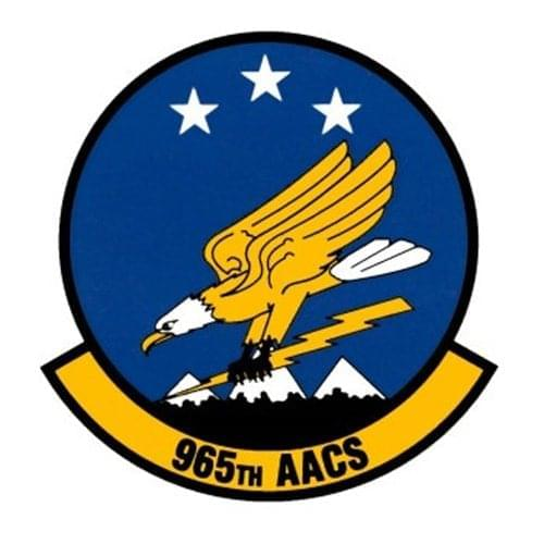 965 AACS Tinker AFB, OK U.S. Air Force Custom Patches