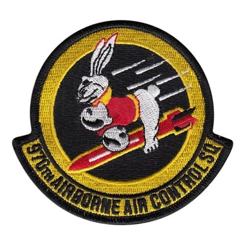 970 AACS Tinker AFB, OK U.S. Air Force Custom Patches