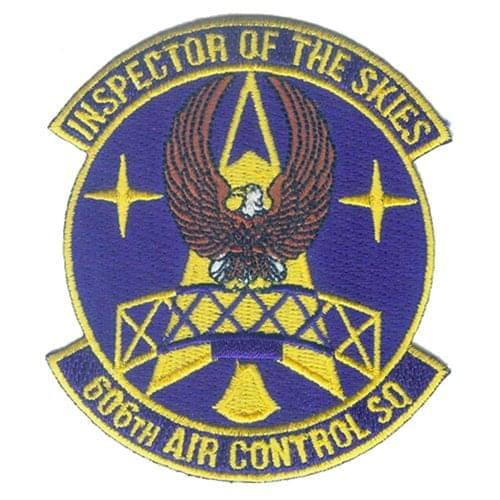 606 ACS Spangdahlem AB U.S. Air Force Custom Patches