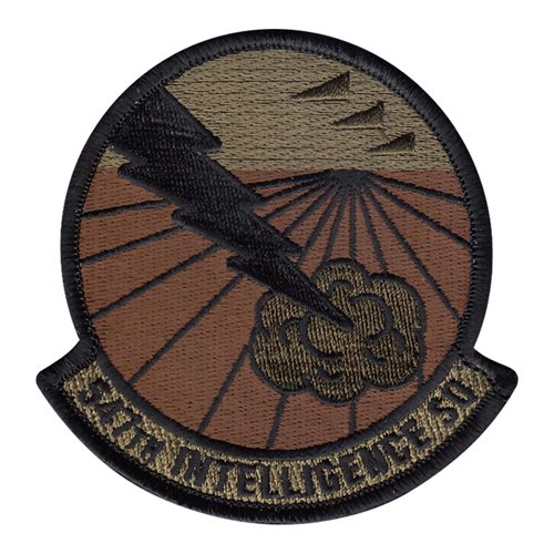 547 IS Nellis AFB U.S. Air Force Custom Patches