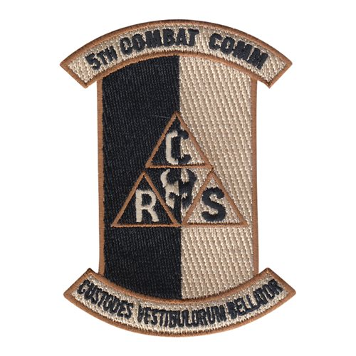 5 CBCSS Robins AFB, GA U.S. Air Force Custom Patches