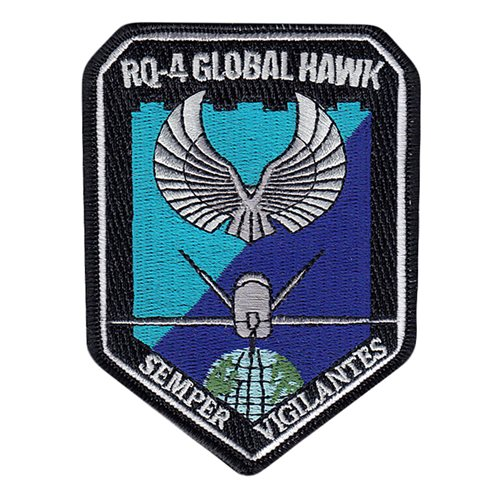 RQ-4 Patches Aircraft Custom Patches