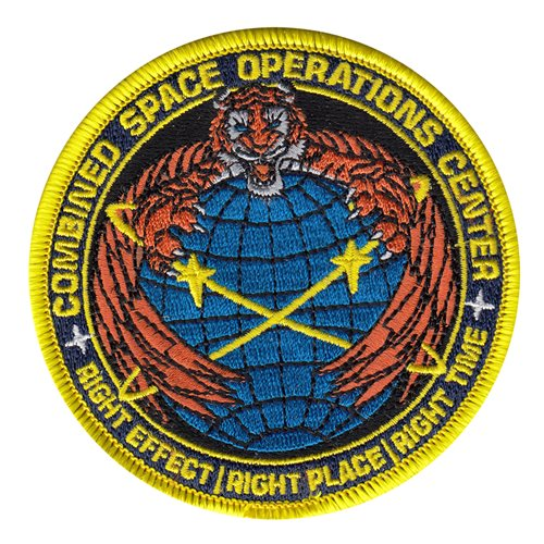 Combined Space Operations Center Vandenberg AFB, CA U.S. Air Force Custom Patches