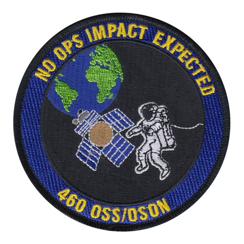 460 OSS Buckley AFB U.S. Air Force Custom Patches