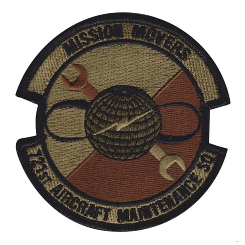 721 AMXS Ramstein AB U.S. Air Force Custom Patches