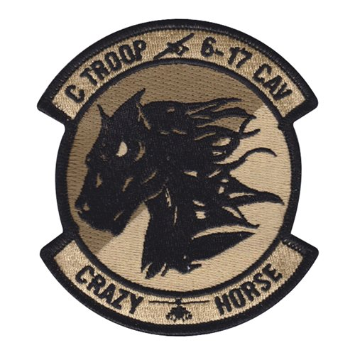 6-17 CAV U.S. Army Custom Patches