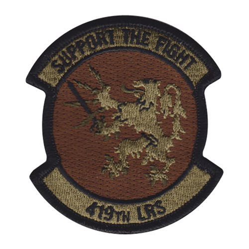 419 LRS Hill AFB U.S. Air Force Custom Patches
