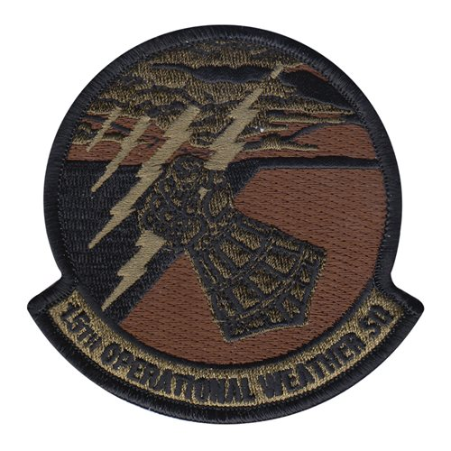 15 OWS Scott AFB U.S. Air Force Custom Patches