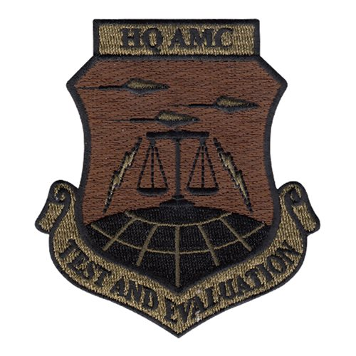 HQ AMC Scott AFB U.S. Air Force Custom Patches