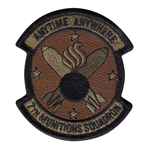 7 MUNS Dyess AFB, TX U.S. Air Force Custom Patches