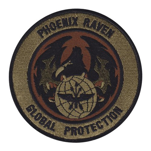 Phoenix Raven McChord AFB U.S. Air Force Custom Patches