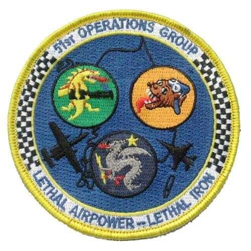 51 OG Osan AB, ROK U.S. Air Force Custom Patches