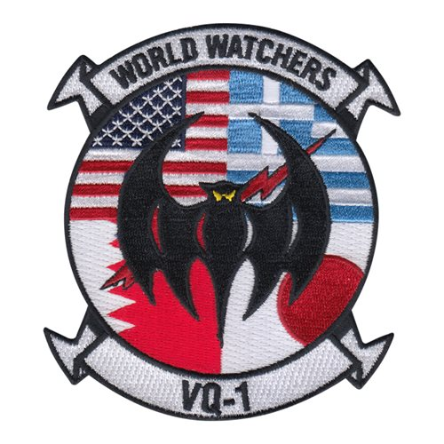 VQ-1 NAS Whidbey Island U.S. Navy Custom Patches