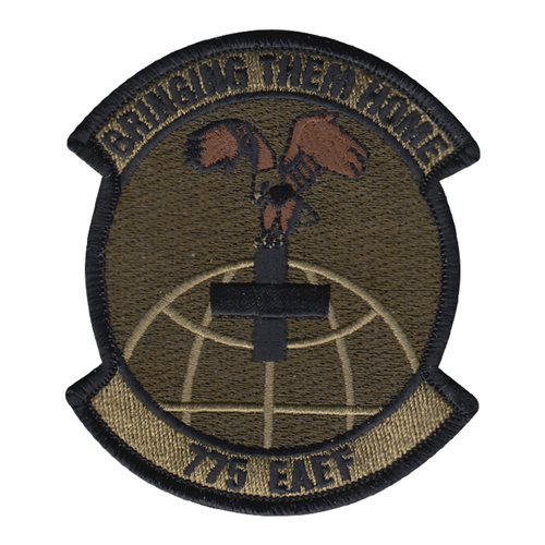 775 EAEF Kelly Field Annex U.S. Air Force Custom Patches