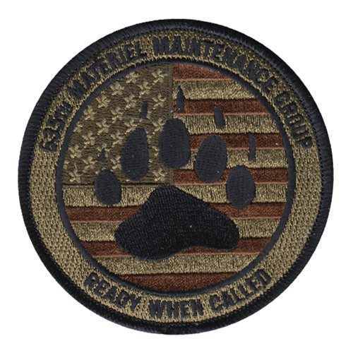 635 MMG Holloman AFB, NM U.S. Air Force Custom Patches